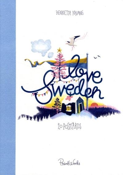 I Love Sweden : 20 postcards