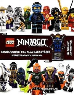Lego Ninjago. Stora guiden till alla karaktärer