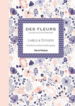 Des Fleures Sticker Book