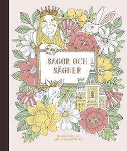 Sagor och sägner - målarbok