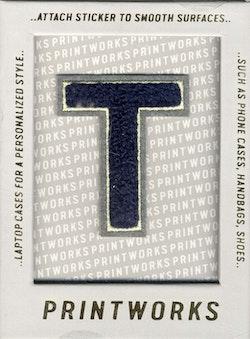 T - Embroidered Sticker