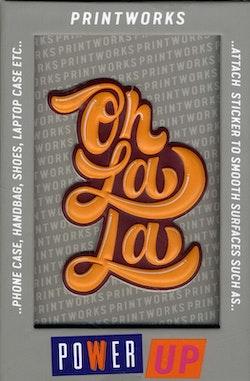 Sticker - OhLaLa Orange