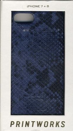 iPhone 7/8 case - Blue Snake