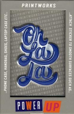 Sticker - OhLaLa Blue