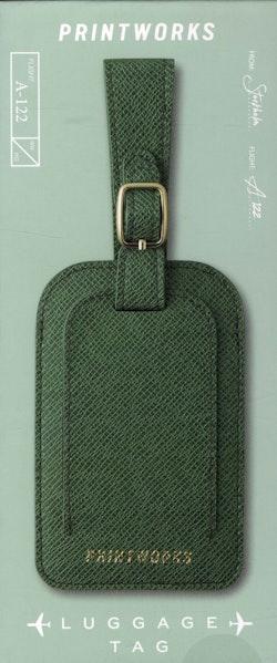 Luggage tag - Green