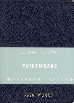 Passport holder - Blue