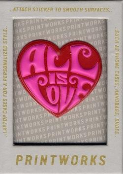 Sticker - 6 (Hjärta)