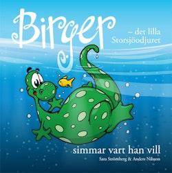 Birger - det lilla Storsjöodjuret simmar vart han vill