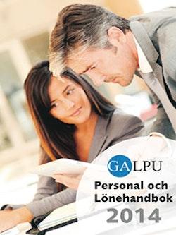 GALPU Personal och lönehandbok 2014