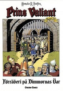 Prins Valiant. Bd 20, Förräderi på dimmornas öar