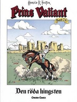 Prins Valiant. Bd 24, Den röda hingsten