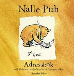 Nalle Puh Adressbok med födelsedagskalender