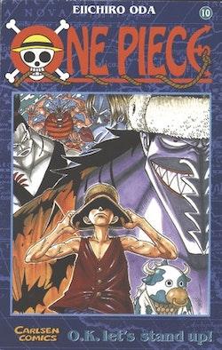 One Piece 10 : Karate under vattnet
