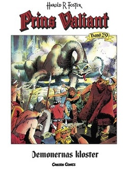 Prins Valiant. Bd 29, Demonernas kloster