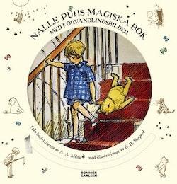 Nalle Puhs magiska bok med förvandlingsbilder