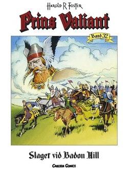 Prins Valiant. Bd 32, Slaget vid Badon Hill