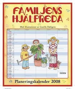 Familjens hjälpreda : planeringskalender 2008