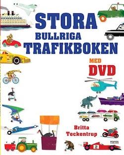 Stora bullriga trafikboken med DVD