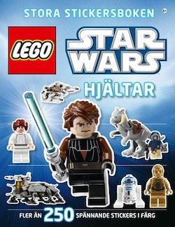 Lego star wars stora stickersboken : hjältar
