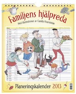 Familjens hjälpreda : planeringskalender 2013