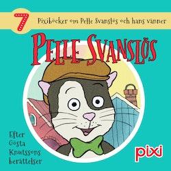 7 Pixiböcker om Pelle Svanslös och hans vänner