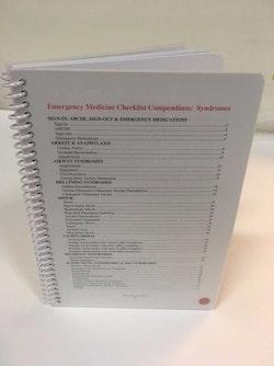 Emergency Medicine Checklist Compendium