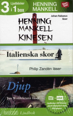 Henning Mankell 3 i 1 box