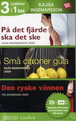 Kajsa Ingemarsson 3 i 1 box