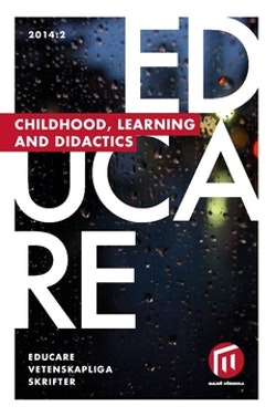Educare. 2014:2, Childhood, learning and didactics