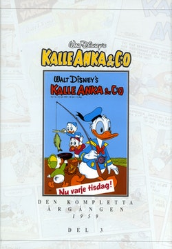 Kalle Anka & C:o. Den kompletta årgången 1959. D. 3