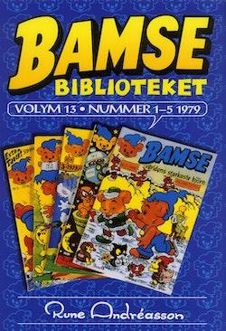 Bamsebiblioteket. Vol. 13, Nummer 1-5 1979