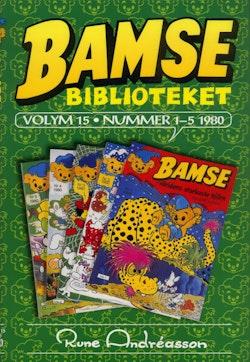 Bamsebiblioteket. Vol. 15, Nummer 1-5 1980