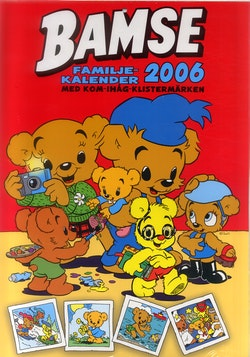 Bamse familjekalender 2006