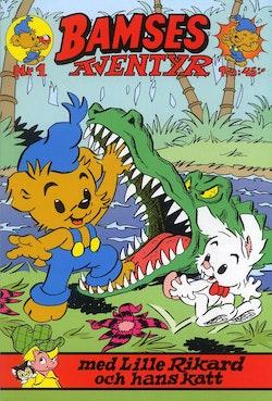 Bamses äventyr med Lille Rikard och hans katt
