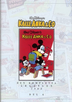 Kalle Anka & C:o. Den kompletta årgången 1960. D. 6