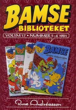 Bamsebiblioteket. Vol. 17, Nummer 1-4 1981