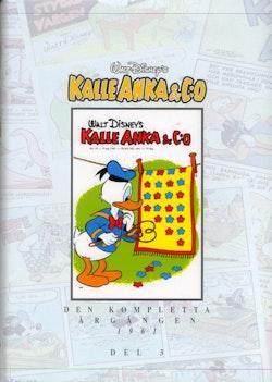 Kalle Anka & C:o. Den kompletta årgången 1961. D. 3