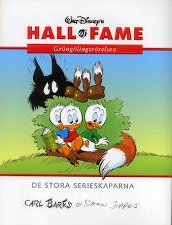 Walt Disney's hall of fame : de stora serieskaparna. 13, Carl Barks och Daan Jippes. Gröngölingsrörelsen