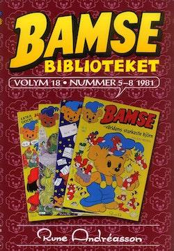 Bamsebiblioteket. Vol. 18, Nummer 5-8 1981