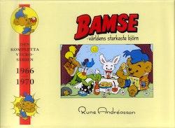 Bamse : den kompletta veckoserien : 1966-1970