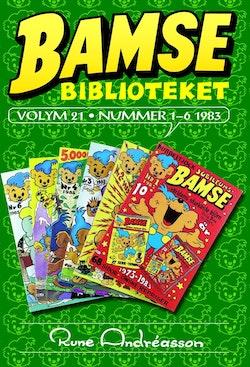 Bamse Biblioteket volym 21 - nummer 1-6 1983