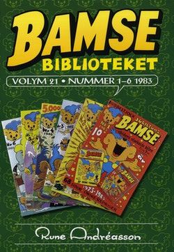 Bamsebiblioteket. Vol. 21, Nummer 1-6 1983