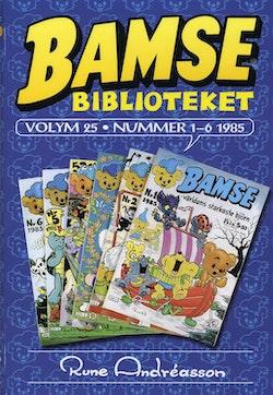 Bamsebiblioteket. Vol. 25, Nummer 1-6 1985