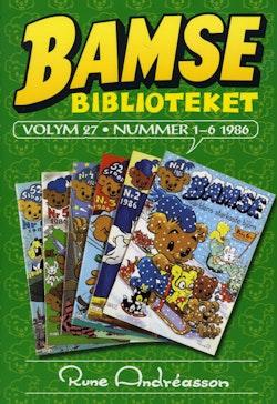 Bamsebiblioteket. Vol 27, Nummer 1-6 1986
