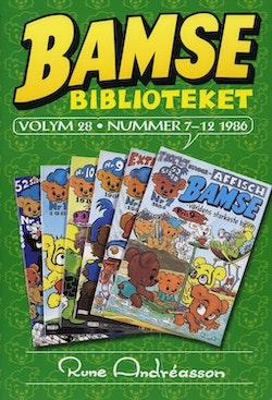 Bamsebiblioteket. Vol 28, Nummer 7-12 1986