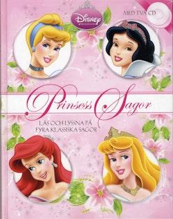 Prinsess-sagor : läs och lyssna på fyra klassiska sagor
