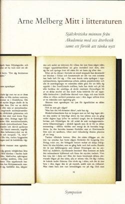 Mitt i litteraturen : självkritiska minnen från Akademia med sex återbesök