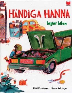 Händiga Hanna lagar bilen