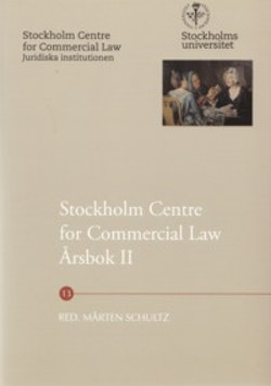 Stockholm Centre for Commercial Law årsbok. 2
