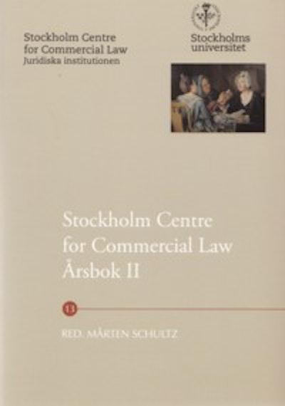 Stockholm Centre for Commercial Law årsbok. 2